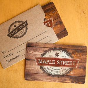 Maple Street Biscuit Company Gift Cards