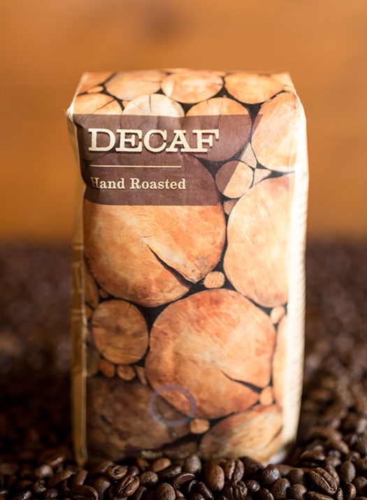 Maple Street Biscuit Company's Decaf coffee - 16 oz bag; whole roasted beans