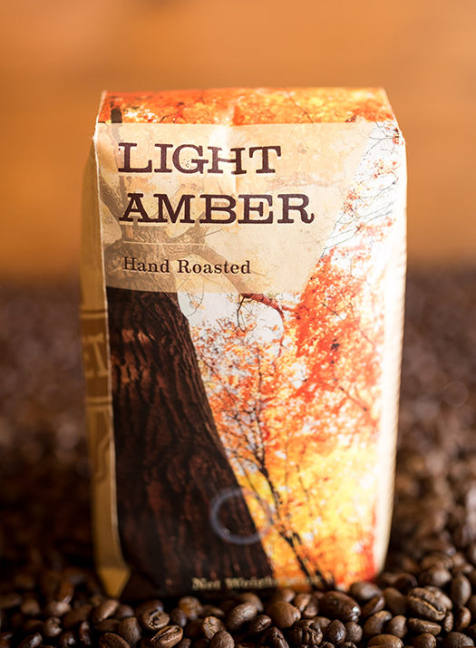 Maple Street Biscuit Company's Light Amber coffee - 16 oz bag of whole roasted beans
