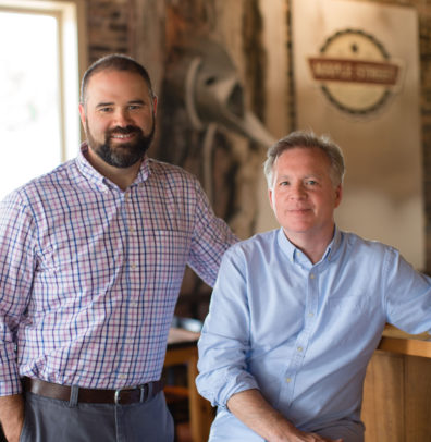 Scoot Moore and Gus Evans, Founders of Maple Street Biscuit Company