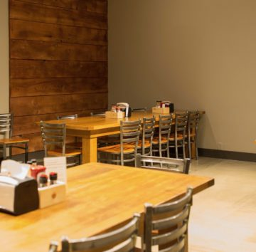 Conference/Meeting room at Maple Street Biscuit Company's Gunbarrel store