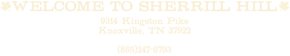 Maple Street Biscuit Company's Sherrill Hill store address and phone number
