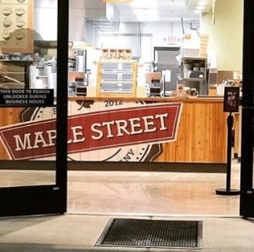 photo of the entrance to Maple Street Biscuit's Hardin Valley store